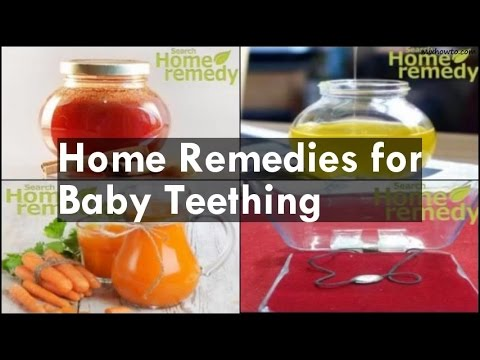 Home Remedies for Baby Teething