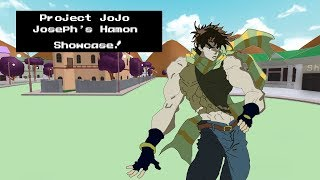 Roblox Project Jojo Star Platinum Prime Showcase Joseph