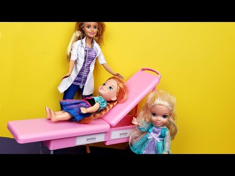 Xxx Mp4 At The Doctor Elsa And Anna Toddlers One Is Sick Barbie Helps 3gp Sex