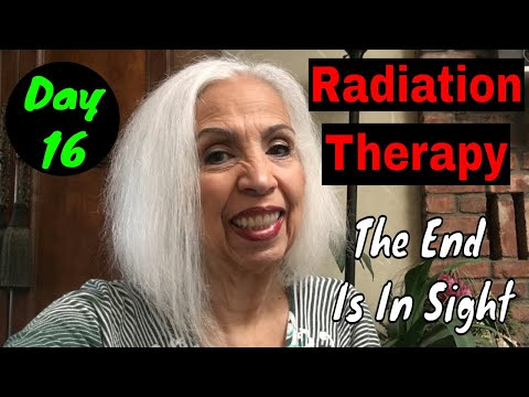 It's Monday - The First Day of My Last Two Weeks of Radiation