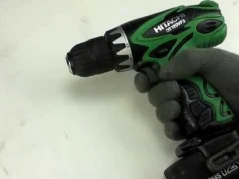 Hitachi 12V Cordless 3/8-in Ni-Cd Drill Driver Kit with Flashlight