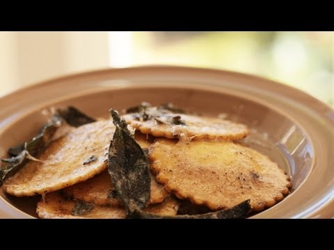 Squash Ravioli with Sage Brown Butter Sauce Recipe