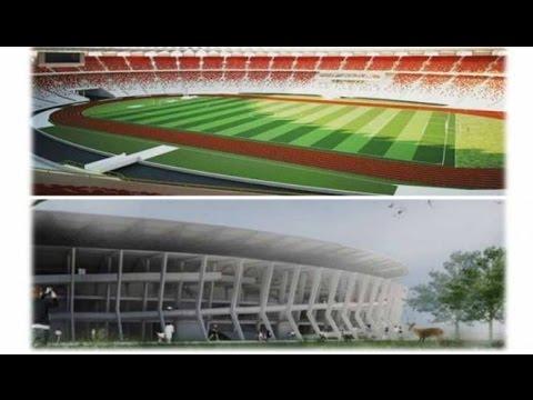 Melihat proses renovasi pembangunan Stadion Gelora Bung Karno GBK