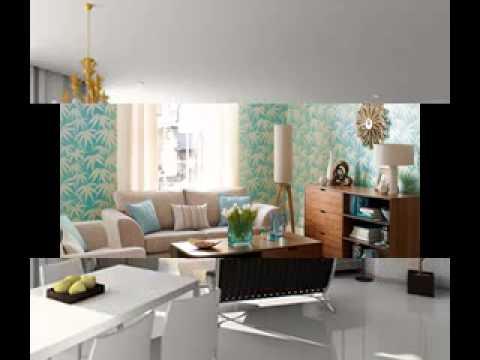 Creative Living room wallpaper design ideas