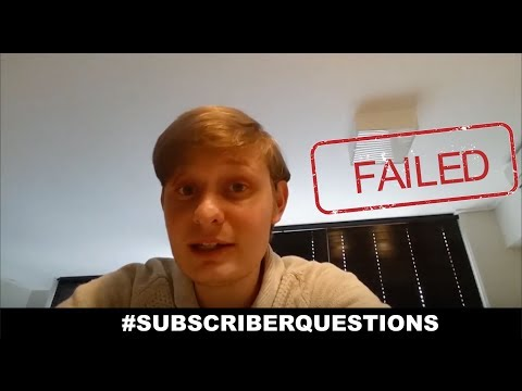 What happens if you fail Actuarial Science? #SubscriberQuestions