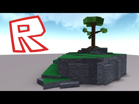 [ROBLOX Speed Build] - Grassy Hill with a Tree