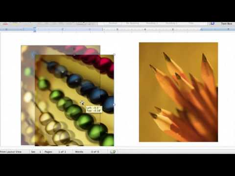 How to Group Pictures on Microsoft Word 2010 : MS Word & Excel