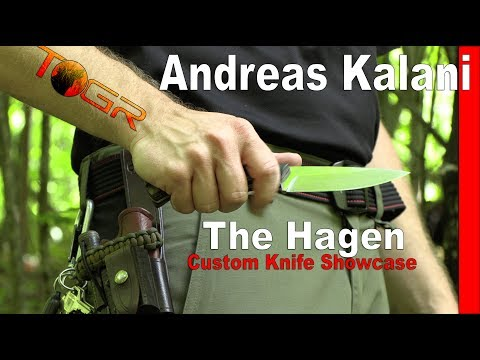 Artist Showcase - Andreas Kalani - The Hagen Knife Review