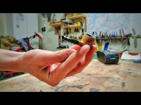 Tiny Wooden Pipe