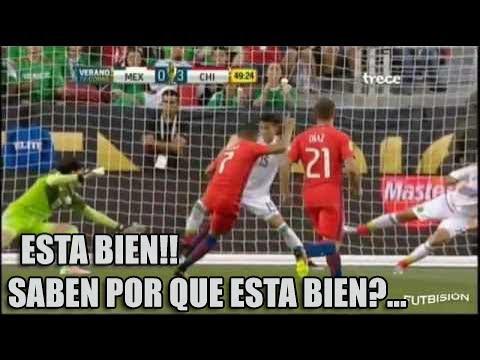 Chile 7 Mexico 0   Relato Mexicano (Christian Martinoli)