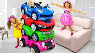 Sasha y cuentos infantiles sobre autos