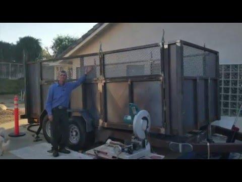 Kyle & Kelly's Custom Fabricated Dump Trailer