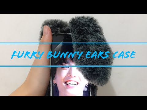 [UNBOXING] Furry Bunny Ears iPhone Case