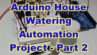 Automatic plant watering system using AVRAtmega16