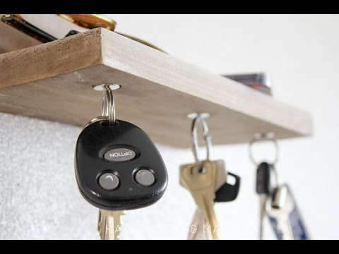 How to Make a Magnetic Key Holder