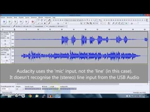 How to do multitrack recording with audacity, usb audio interface and/or a mixer