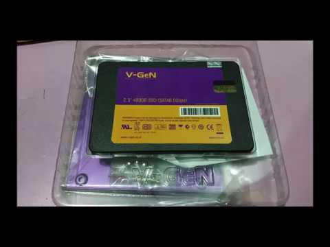 Unboxing, Benchmark & Review SSD V-GEN 480GB