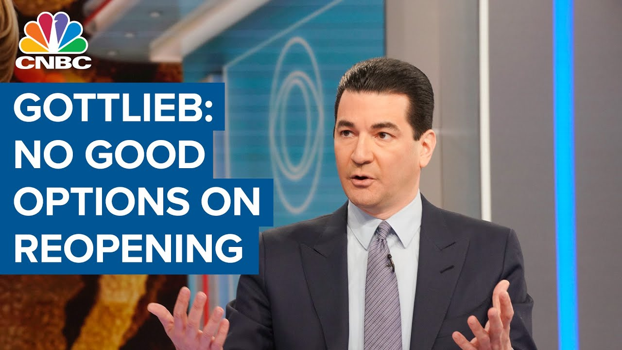 The epidemic's slowing, but it's not contracting: Former FDA Commissioner Dr. Scott Gottlieb