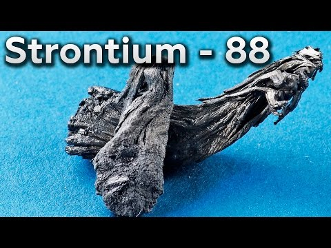 Strontium  - Metal that Absorbs X-RAYS!