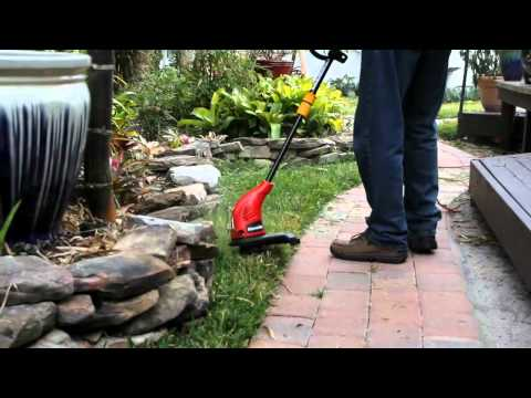 Homelite 13 in Electric Trimmer Edger.mp4