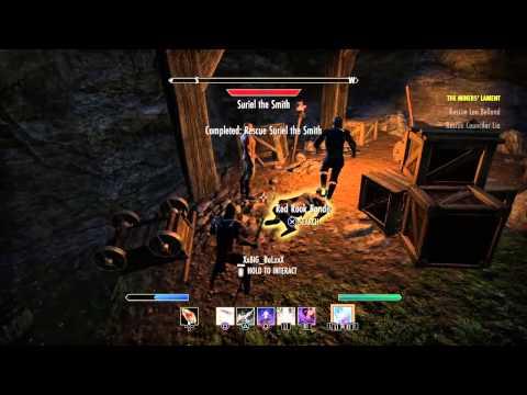 Elder Scrolls Online PS4 Rescue Side Quest