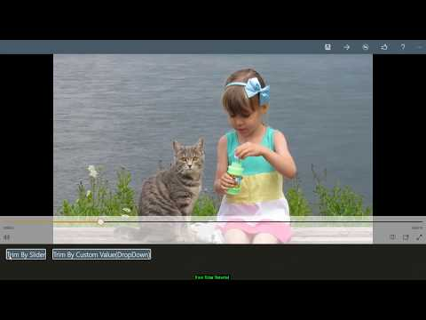 Fastly Cut/Trim/Cut & Merge Video FIles From KinderjoyVideoEditor & Movie Maker