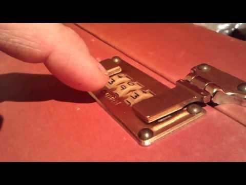 Cracking a 3 barrel combination lock