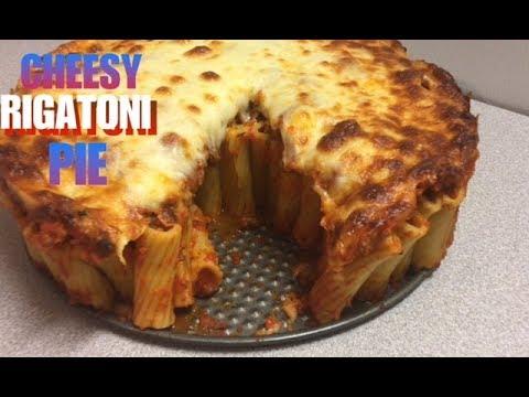 THE ULTIMATE CHEESIEST RIGATONI PIE RECIPE