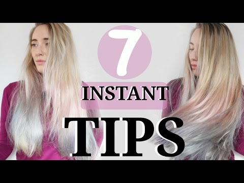 7 Hair Hacks For Thin Hair | Make thin Hair Thicker INSTANTLY | No Heat No Damage.