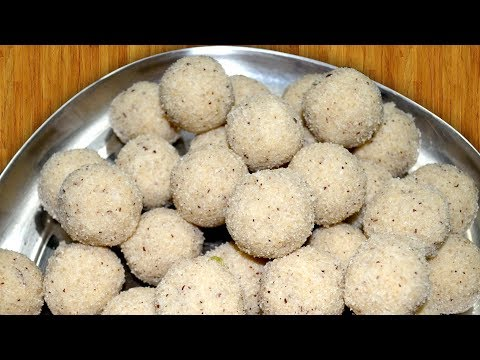 How To Make Suji Laddu Rava Laddu - Indian Dessert Sooji Ladoo Recipe