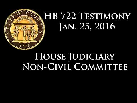 Georgia Mom testifies at 1/25/16 Hearing on HB 722 to expand Georgia's Medical Cannabis Code