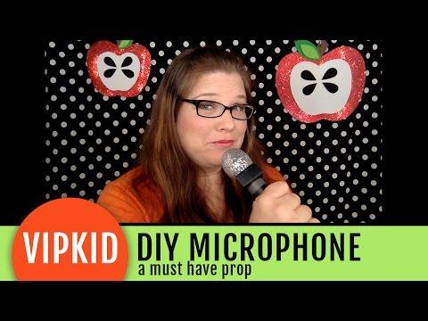 VIPKID Microphone Prop DIY