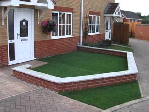 Fake Artificial Grass Design Samples | Artificial Grass Front Lawn
