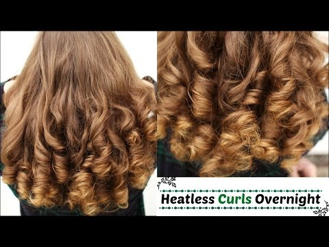 Overnight Heatless Curls   Heatless Curls   Braidsandstyles12