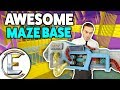 Download Video Download Awesome Maze Base - Gmod DarkRP LIfe (Building Tips, A Really Good Base And Get Raided) 3GP MP4 FLV