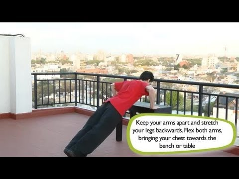 How to Do a Decline Bench Press : Exercises in the House