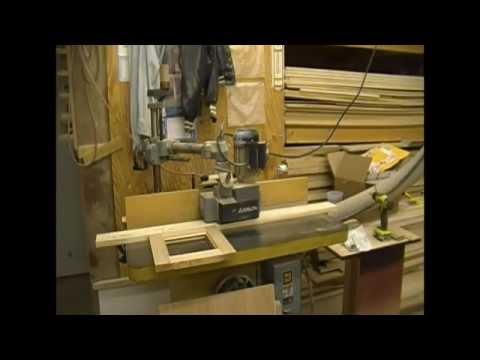 Cabinet Door Part Shaper Set Up Detail