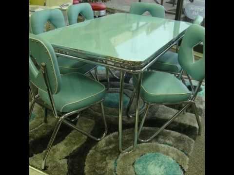 Vintage Chrome Dinette and Kitchen Sets