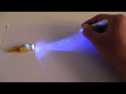 Magic Secret Writing Invisible Ink Pen