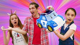 Download Смешное видео для детей - Супер Челлендж Без Рук! - Кукла Барби и игры для девочек. Video