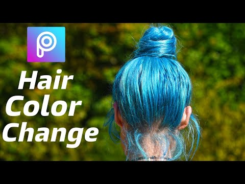Picsart editing | Hair color effect | Very Simple Color Editing Picsart | Picsart edit by itech