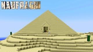 "NAUFRAGHI 2 EP.3 - Minecraft - ""LA PIRAMIDE NASCOSTA"""