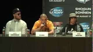 FOX Sports 1: Pre-fight Press Conference