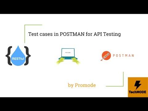 API Testing using POSTMAN - Advance Test Cases