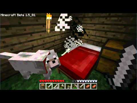 Minecraft: An Easy way to get bones/feathers