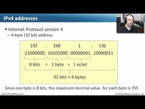 IPv4 and IPv6 - CompTIA A+ 220-701: 4.1