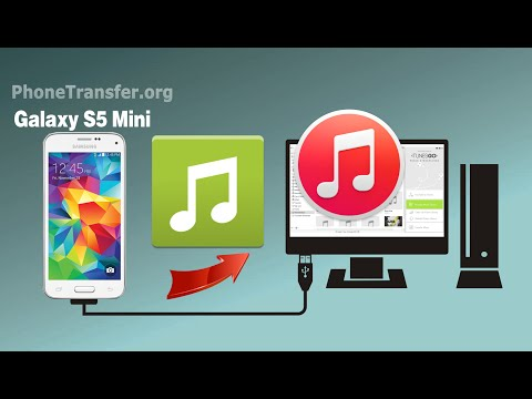 [Galaxy S5 Mini to iTunes]: How to Sync Music & Playlist from Samsung Galaxy S5 Mini to iTunes