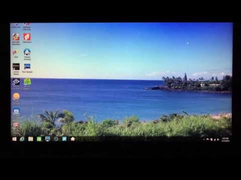 Windows 8.1 System Recovery, Factory Reset (Lenovo Y510P)