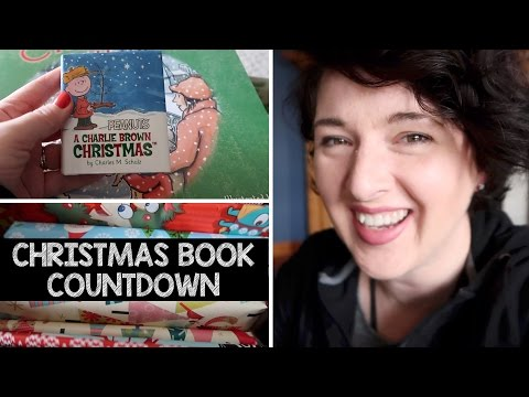 Children's Christmas Book Countdown VLOG | Jelly Toast