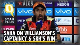 Wriddhiman Saha on Sunrisers Hyderabad's Win Over KKR | The Quint
